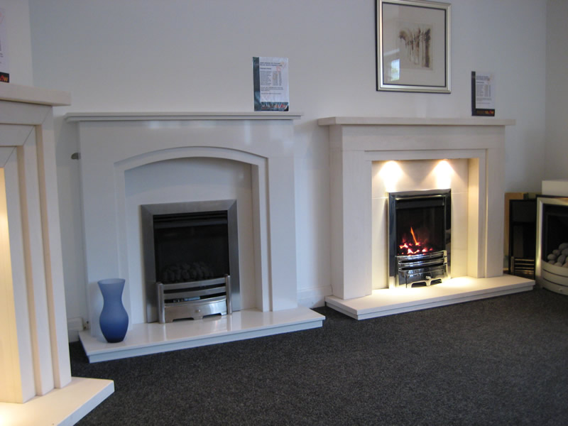 More Fireplaces in Cheshire Oaks Showroom