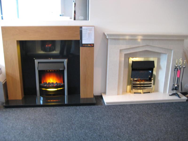 Modern Firesin Showroom