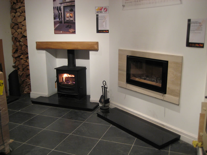Modern Fireplaces in Wirral Showroom