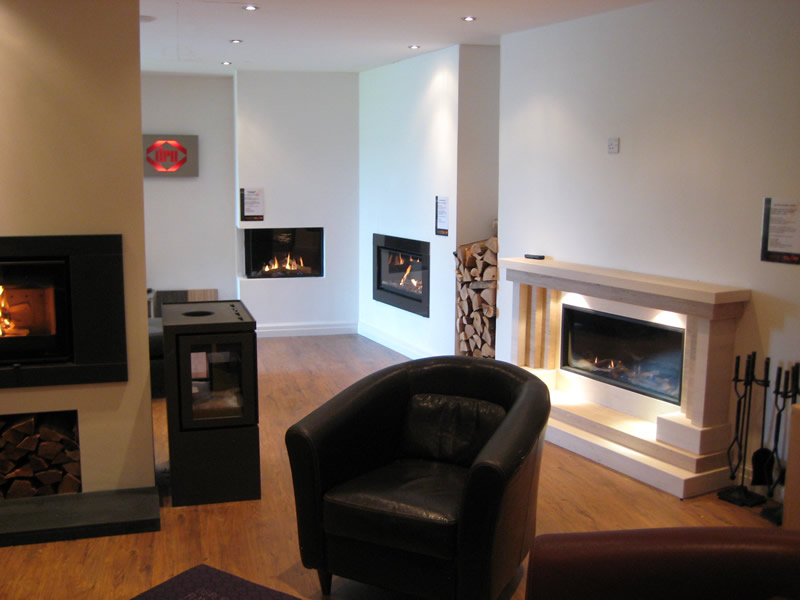 Overview of Wirral Fireplace Showroom
