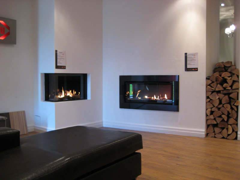 Hole in The Wall Fires in Wirral Showroom