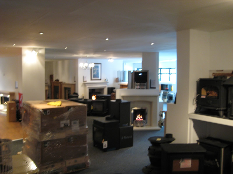 Overview of Wirral Showroom