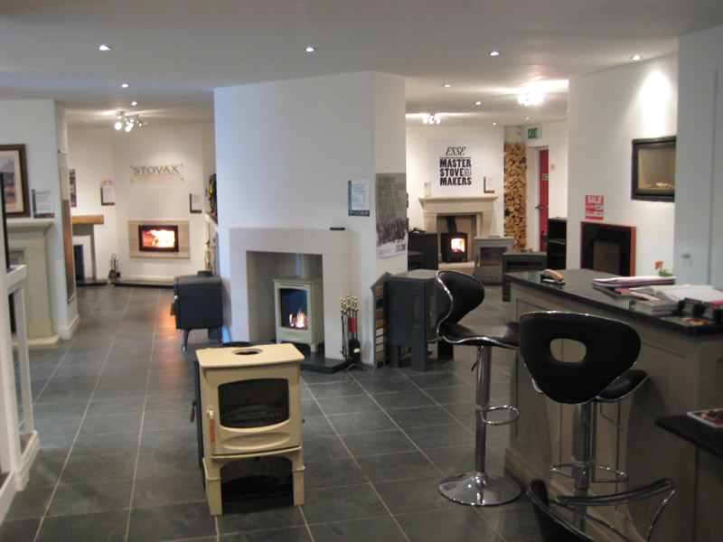 Overview of Cheshire Oaks Showroom